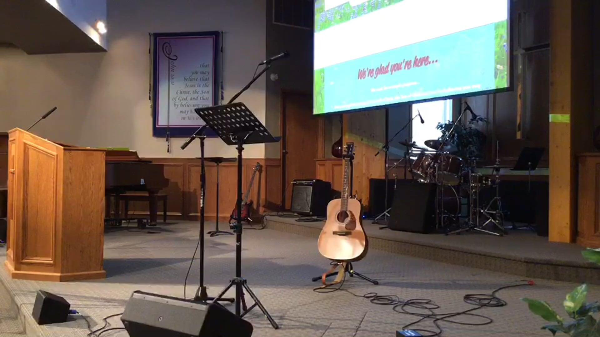 August 8, 2021 Worship Service