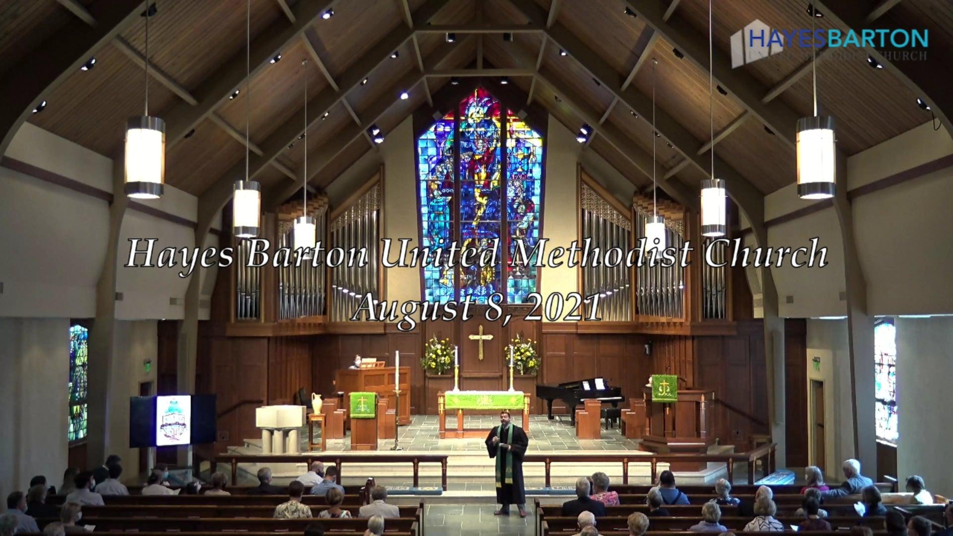 Sanctuary Worship - August 8, 2021