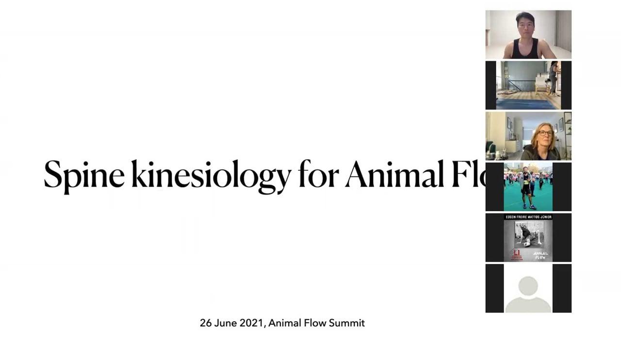 Jeseung Lee: Spine Kinesiology for AF