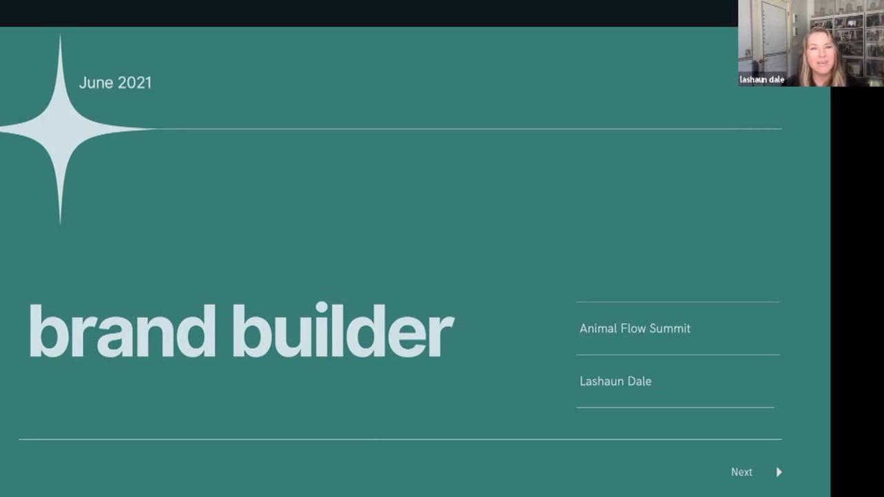 Lashaun Dale: Brand Builder