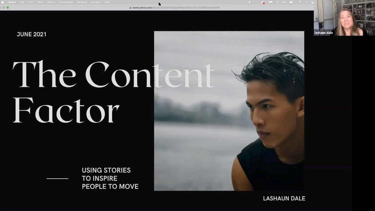 Lashaun Dale: Content Creation Magic