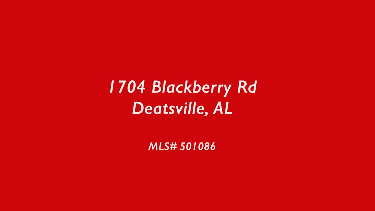 1704 Blackberry Rd  Deatsville, AL (U)