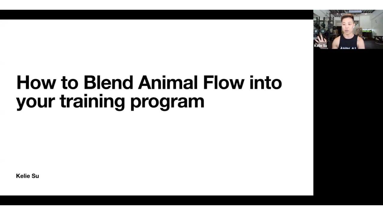 Kelie Su: Blending AF into Your Training