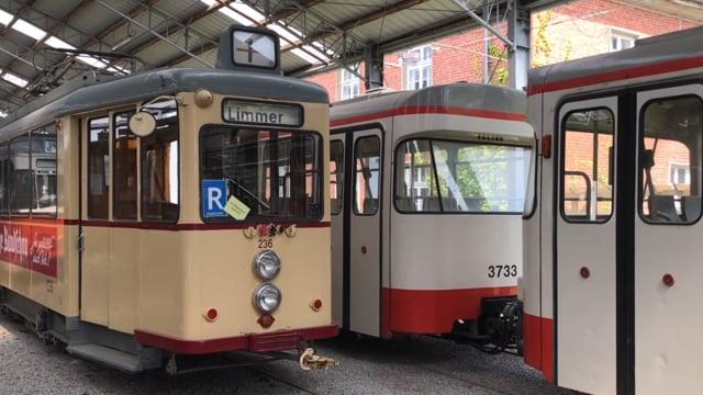 Besuch Hannoversches-Straßenbahn-Museum