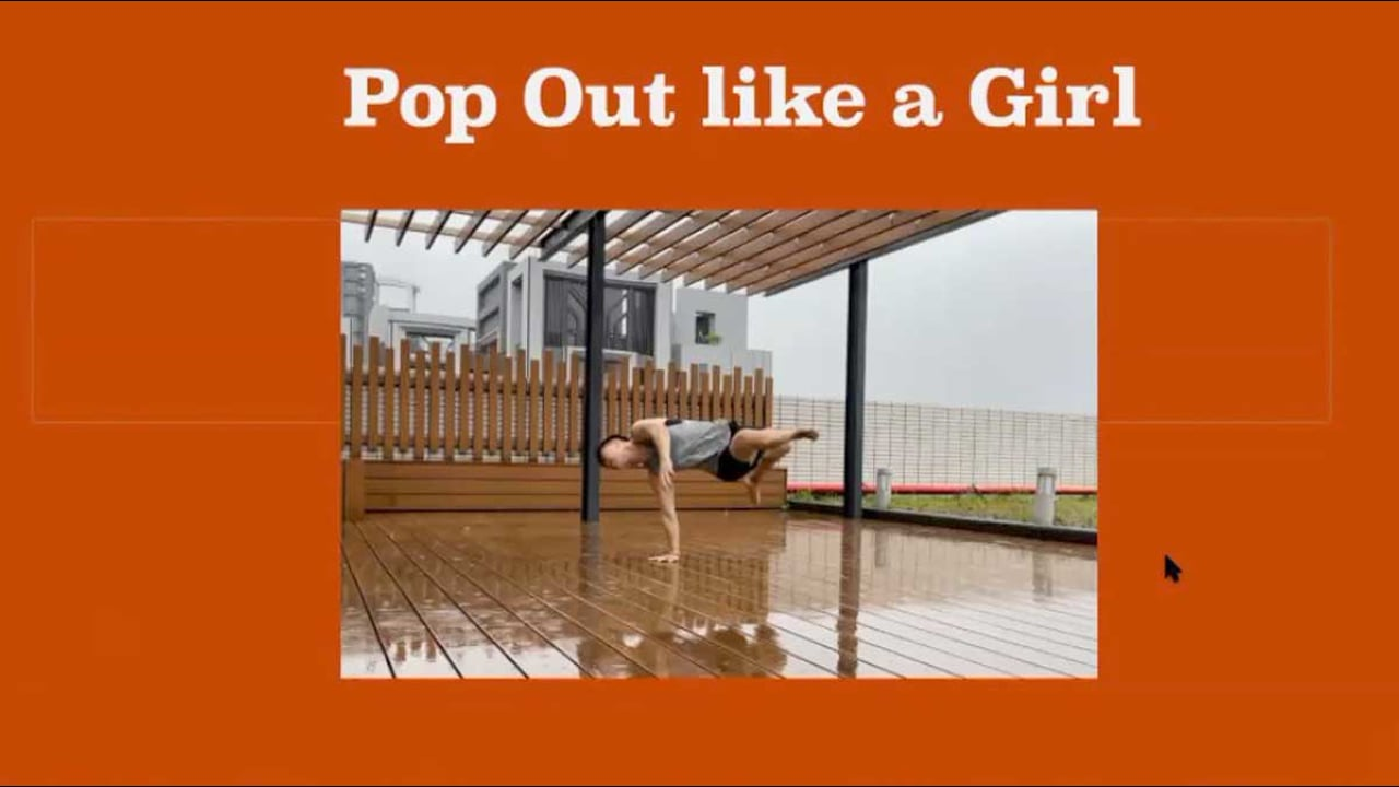 Kelie Su: Pop Out Like a Girl