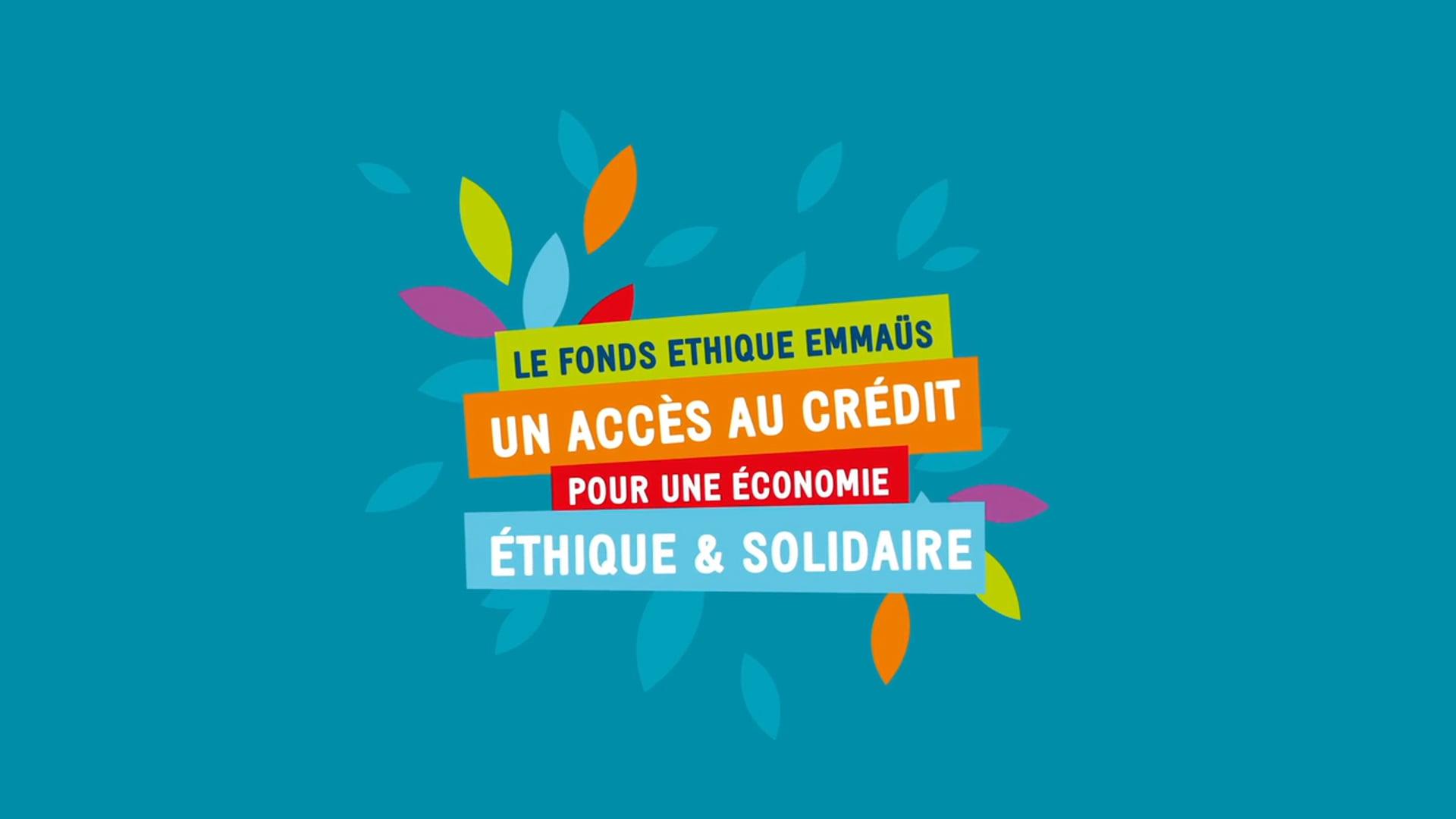 Emmaüs International | Fonds Ethique Emmaüs