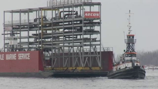 AECON Barge