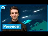De meteorenzwerm Perseïden