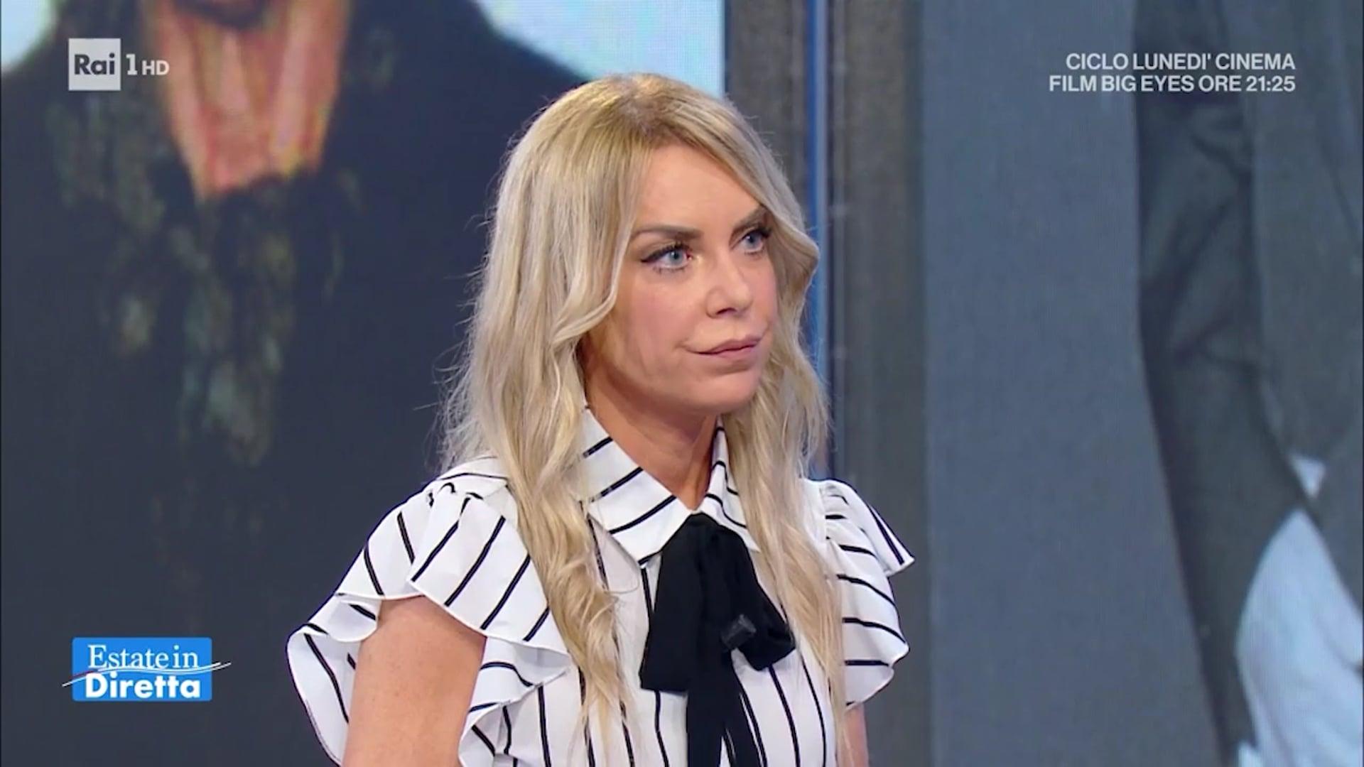 """Francesca Cenci intervento a """"Estate in diretta"""" 09.08.21"""