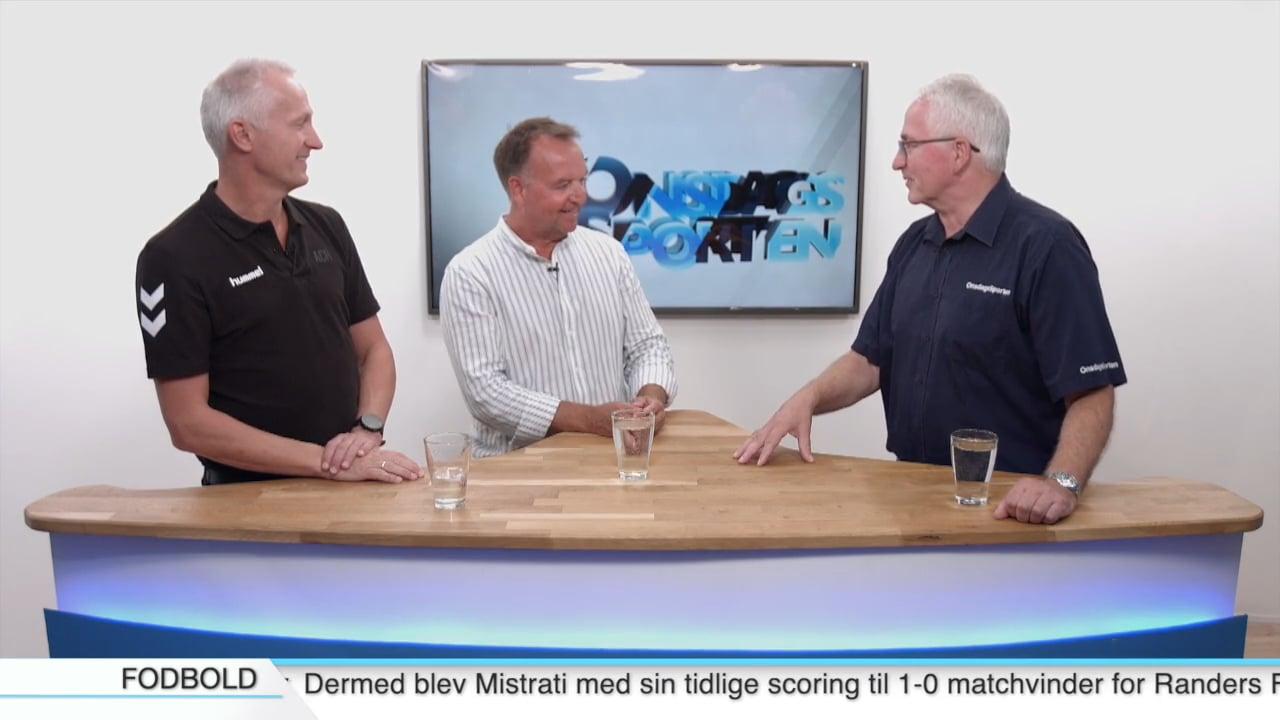 Anders Boe & Niels Erik Søndergård, hhv. EfB-fan og sports- og talentschef, AC Horsens