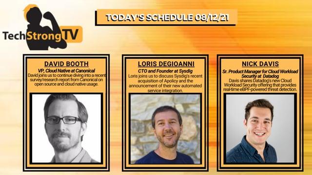 TechStrong TV - August 12, 2021