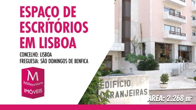 LISBOA | ESCRITÓRIOS DE SETE RIOS | IMÓVEIS MILLENNIUM