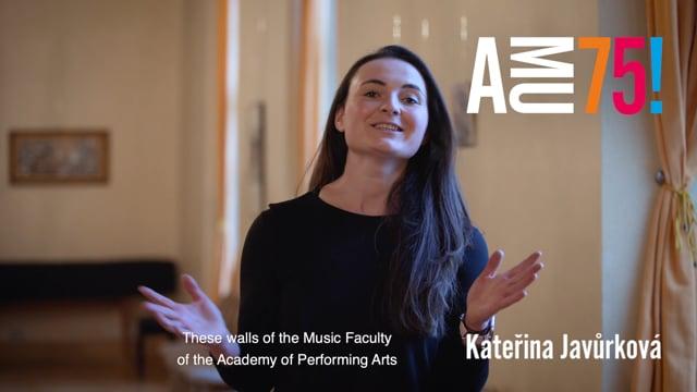 Své přání AMU posílá i Kateřina Javůrková, hráčka na lesní roh, absolventka HAMU a členka hornové skupiny České filharmonie.