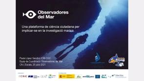 Conferència:  Observadores de la mar