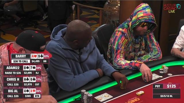 #508: 5-5-10 at Hustler Casino LIVE