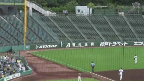 【ファーム】ビッグプレー!! バファローズ・田城のホームランキャッチ!! 2021/8/15 B-T(ファーム)