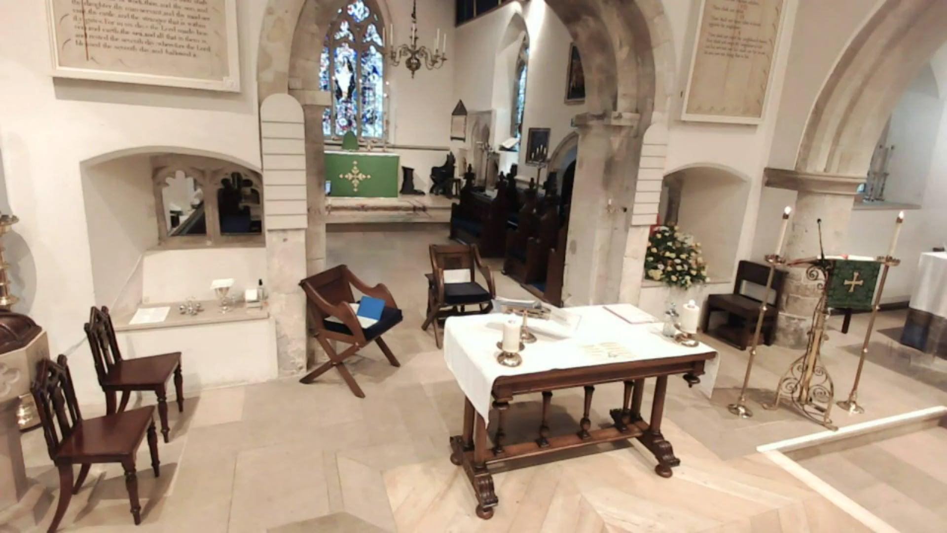 Sunday Sung Parish Eucharist - LIVE - Sunday 15th August 2021