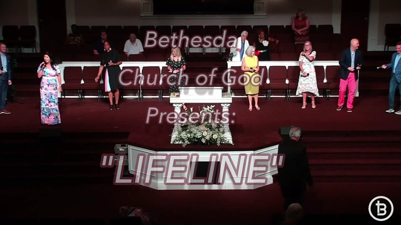 PLEASE IDENTIFY YOURSELF: Bethesda  Church of God