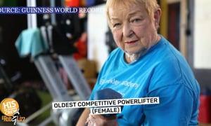 Powerlifting Granny!