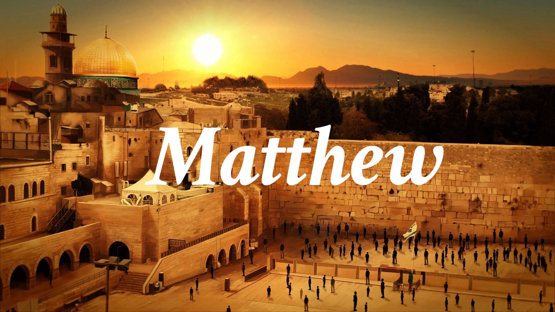 "Matthew 8:1-17 ""Jesus Heals Many"""
