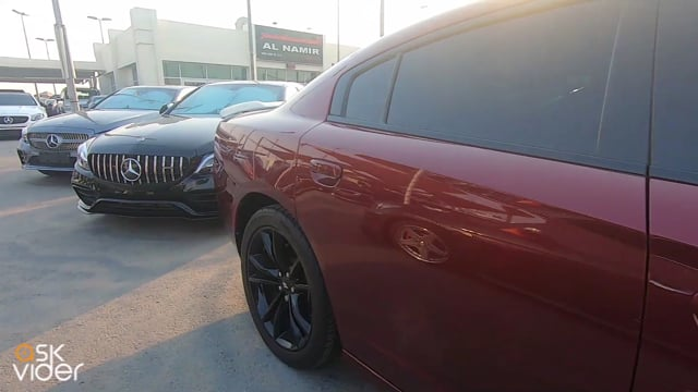 DODGE CHARGER - RED - 201...