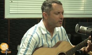 Brandon Heath performs live for HIS Morning Crew