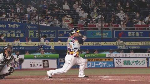 【5回表】ライオンズ・中村 フェンス直撃の同点タイムリーヒット!! 2021/8/18 M-L