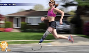 She Ran 100 Miles with 1 Leg