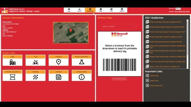 FieldTrace® - Navigation Overview