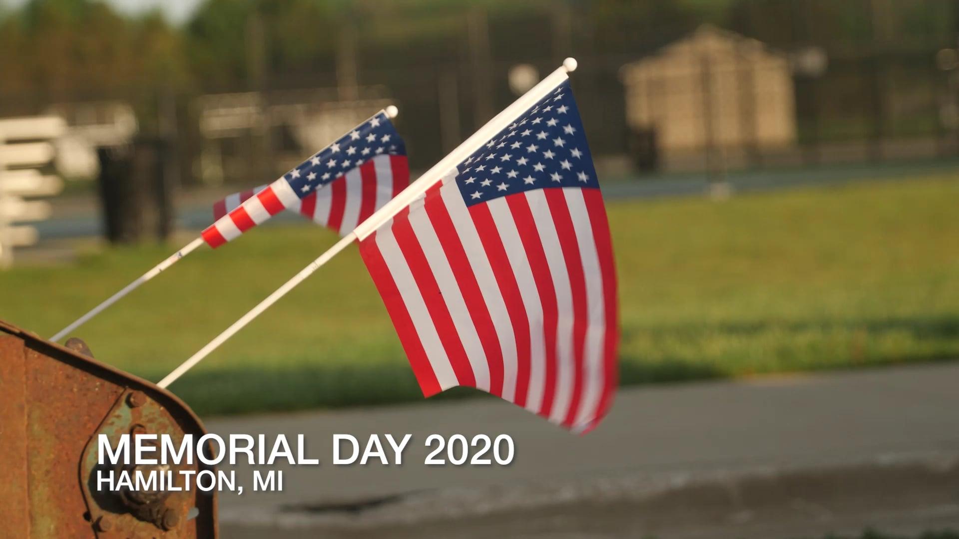 Remember and Honor Memorial Day 2020
