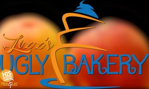 It's a Peachy Keen Lizz's Ugly Bakery!