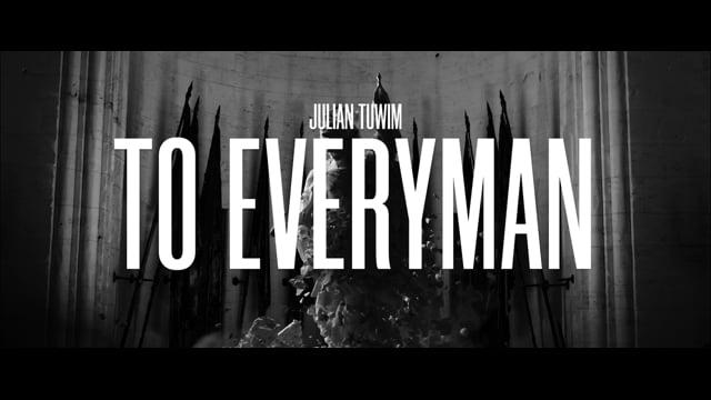 Julian Tuwim: To Everyman | Official Trailer