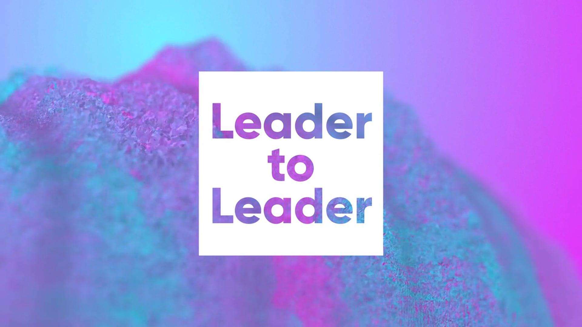 #PurpleLightUp 2021 | Leader to Leader