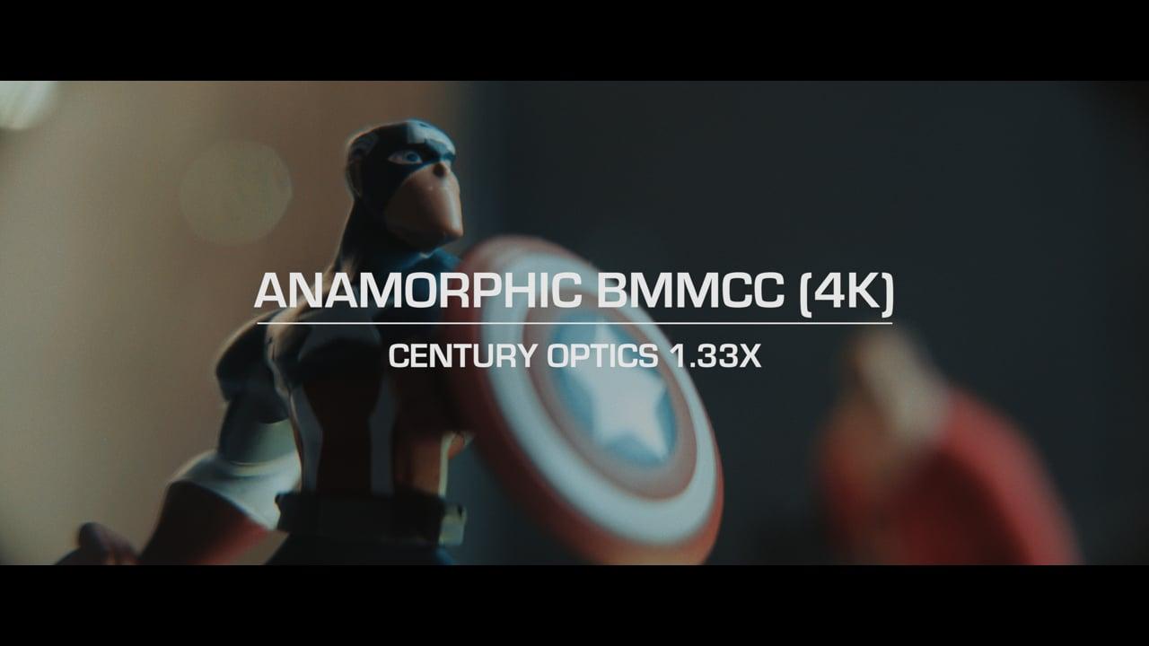Anamorphic BMMCC 4K // Century Optics 1.33x // Color Grade