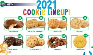 What else WOULD you call the Girl Scouts new cookie?