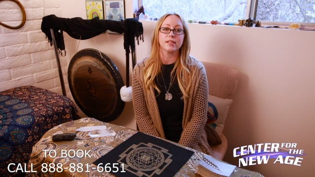 Introducing Psychic Reader Emily at Center for the New Age - Sedona, AZ