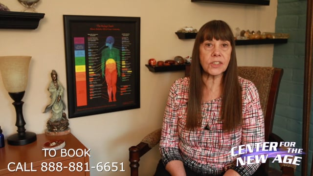 Introducing Psychic Reader Vicki at Center for the New Age - Sedona, AZ