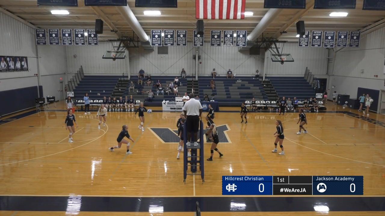 Varsity Volleyball vs Hillcrest Christian - 08-21-21