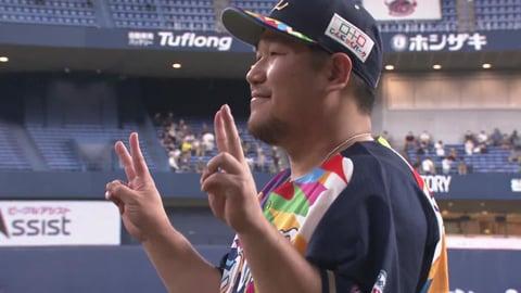 ライオンズ・中村選手ヒーローインタビュー 8/22 B-L