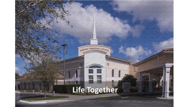 8-22-2021 Sunday Contemporary Worship Service