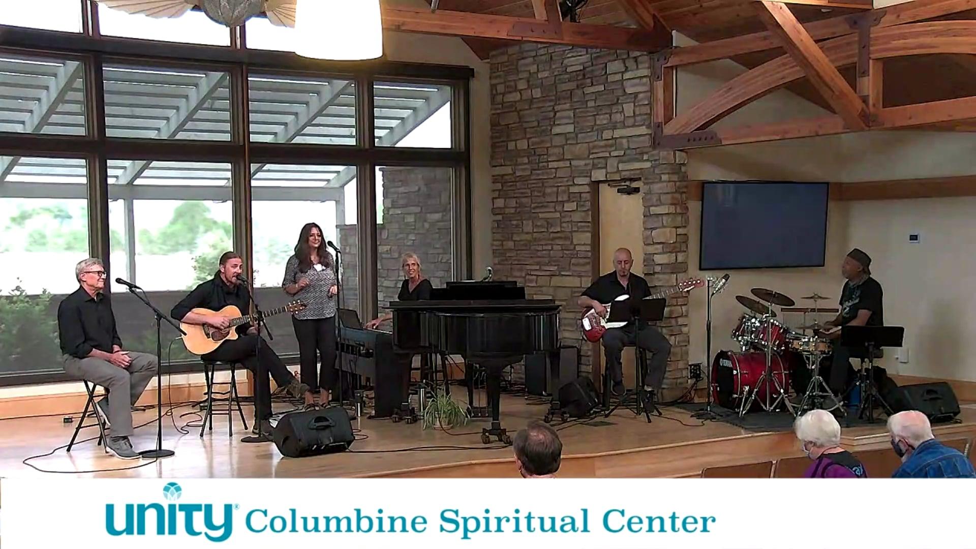 Columbine Unity Spiritual Center Sunday Service 10am Mountain