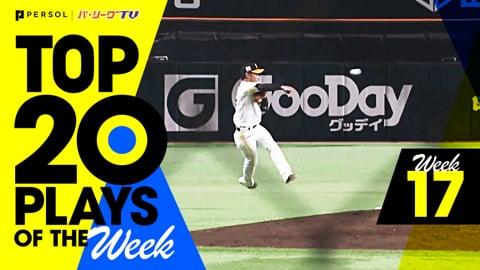 【2021】TOP 20 PLAYS OF THE Week #17(8/17〜8/22)先週の試合から20のベストプレーを配信!!