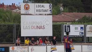 El Girona B, un test més de pretemporada per l'Escala