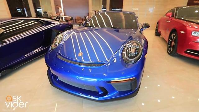 PORSCHE 911 GT3 - BLUE -...