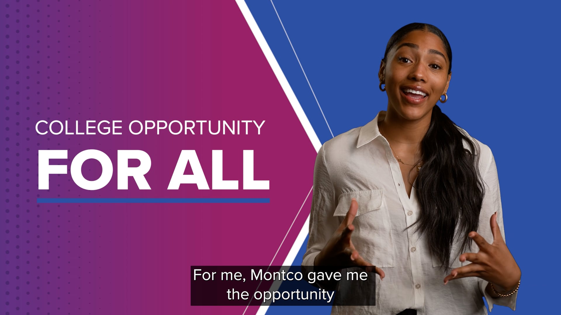 MC3 FOR ALL Campaign - College Opportunity