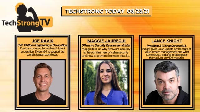 TechStrong TV - August 23, 2021