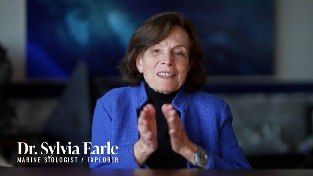 Sylvia Earle Gives a Glowing Endorsement