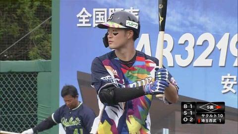 【ファーム】ライオンズ・戸川 今季初ヒットはライトへの2ベース!! 2021/8/24 L-S(ファーム)