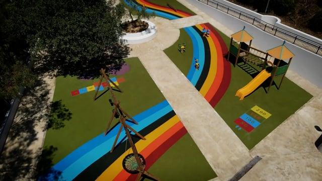 Bambinopoli playground Caltagirone (CT) Italy