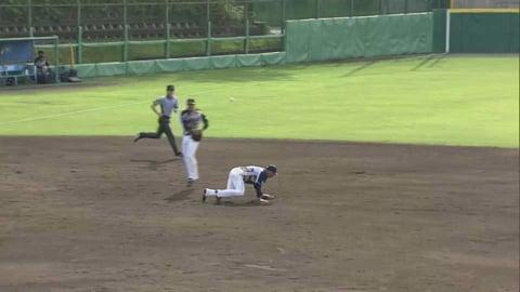 【ファーム】ライオンズ・山村 ピッチャーを救うファインプレー!! 2021/8/25 L-S(ファーム)
